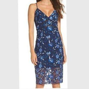 Bardot Midi Floral Dress